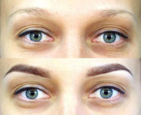 Аккуратность и симметрия подчеркивают достоинства лица, делая взгляд выразительнее