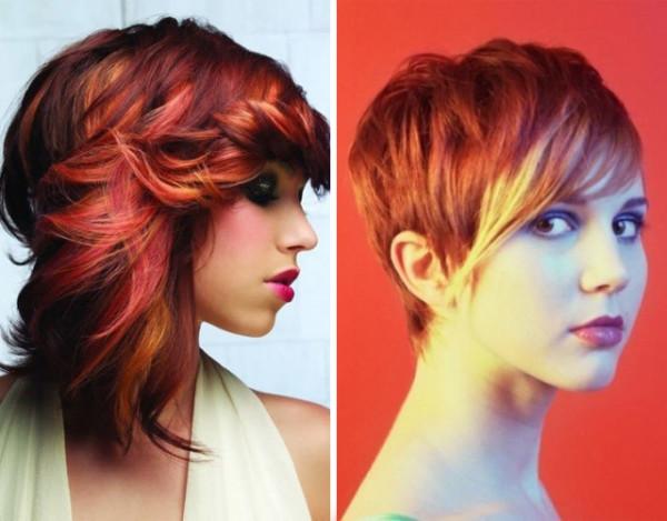 American colors, выполненный в красных оттенках, называют «Краски дикой природы»