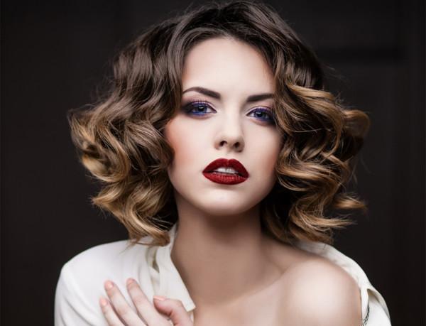 Балаяж делает акцент на кончиках волос