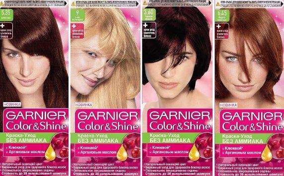 Безаммиачные краски от GARNIER