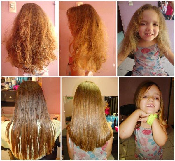 Biyouhliss можно применять даже на детских волосах