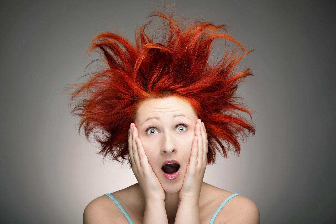 Прикольные картинки с волосами