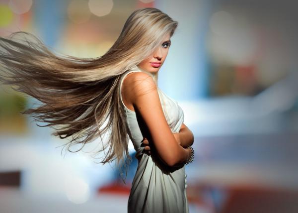 Блондинка! Как много шарма в этом образе…