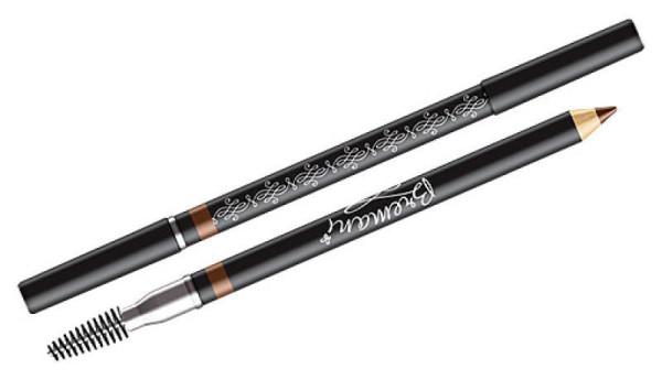 Часто карандаши имеют на противоположном конце специальную щёточку для расчёсывания – отдавайте предпочтение при покупке именно удобным аксессуарам