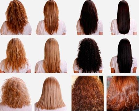 Что позволяет сделать утюжок – примеры волос до и после его использования