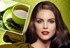 Данный напиток оказывает благотворное влияние на волосы.