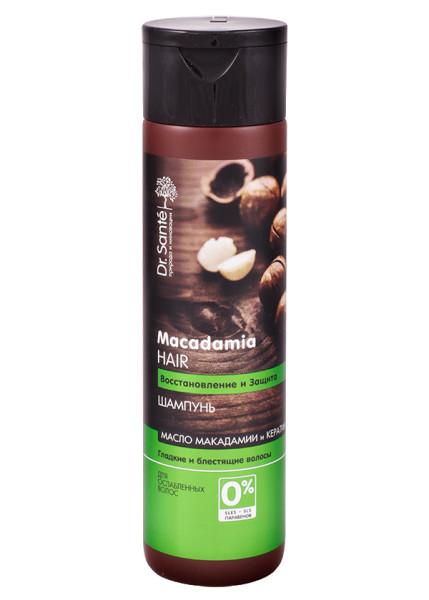 Данный шампунь с маслом макадамии– лучшая основа для эфиров от ломкости.