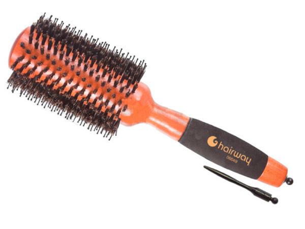 Диаметр изделия подбираем по длине волос: чем они длиннее, тем он больше.