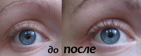 До и после окраски хной