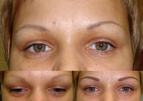 Эффект перманентного макияжа