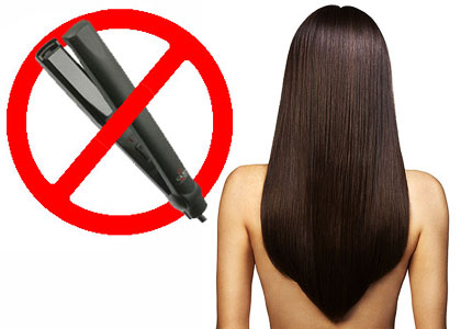 Если вы беспокоитесь о здоровье своих волос, скажите «Нет!» утюжкам