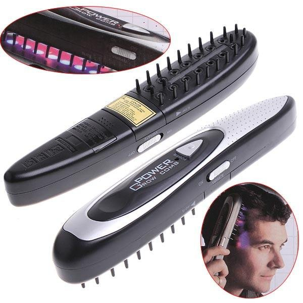 Это современная расческа от выпадения волос, которой пользуются мужчины и женщины.