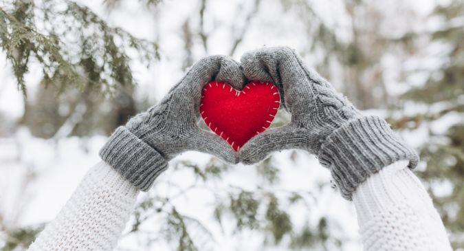 сколько вариантов фото зима природа варежки проекты уже