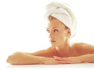 Фото «чалмы» из полотенца – часто она используется для утепления и усиления эффекта от маски