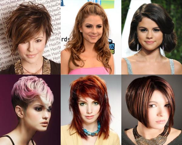 Фото колорирования на волосы различной длины
