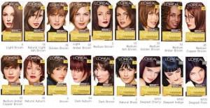 Фото: коричневые оттенки красок для волос радуют своим многообразием.