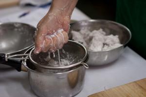 Фото процесса приготовления кокосового молока своими руками
