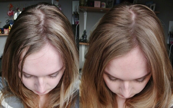 Фото результата использования сухого содового «шампуня»