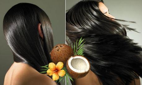 Фото: ухоженные волосы – заслуга кокосового масла