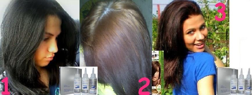 Как покрасить темные волосы в светлый цвет. Осветление 39