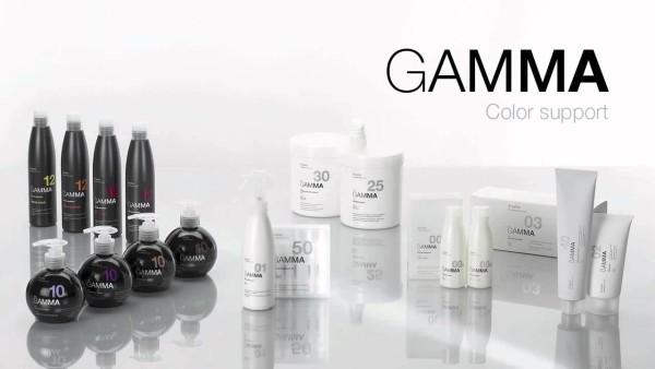 Гипоаллергенная стойкая крем-краска GAMMA на основе фитокератина