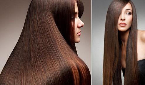 Идеально гладкие волосы после процедуры кератинирования нуждаются в особом уходе