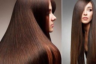Идеально гладкие волосы выглядят ухоженно и привлекательно