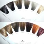 Igora сделала акцент на натуральных оттенках, которые повторяются в линейке перманентных красок. Поэтому на вопрос, можно ли красить волосы после оттеночного шампуня мы однозначно отвечаем «Да!»