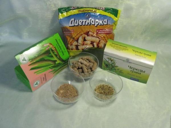 Ингредиенты для приготовления косметического продукта
