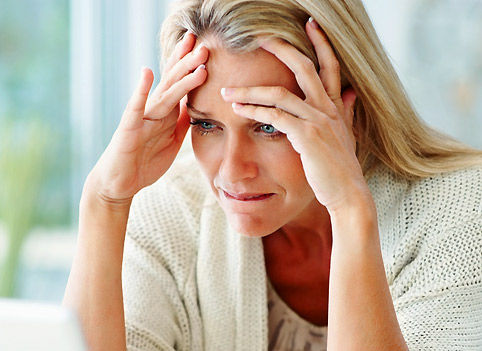 Иногда причиной медленного роста прядей может стать банальная депрессия.