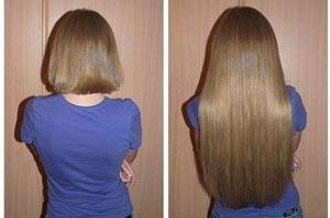 Как из коротких волос сделать длинные – локоны до и после наращивания