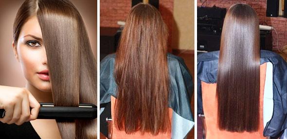 Как надолго выпрямить волосы утюжком? Только на сухие локоны!