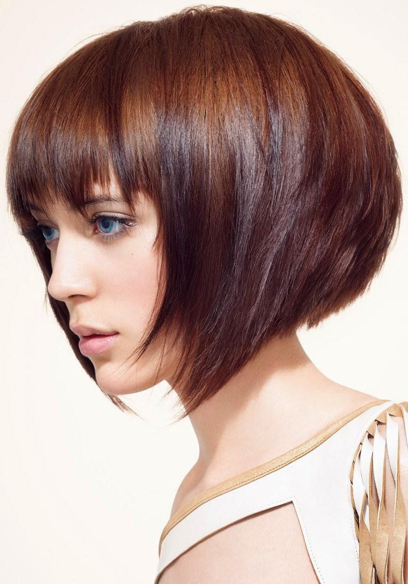 Каре на темные волосы: завершаем новый образ оригинальным окрашиванием.