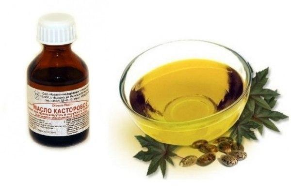 Касторовое масло помогает обеспечить крепость шевелюры