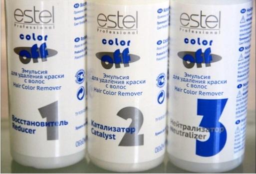 Кислотная смывка Estel (цена от 300 руб.)