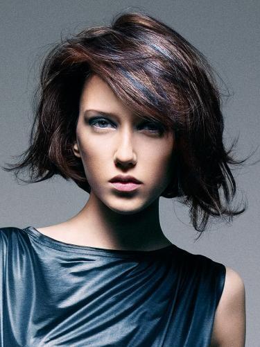 Классическое мелирование темных волос