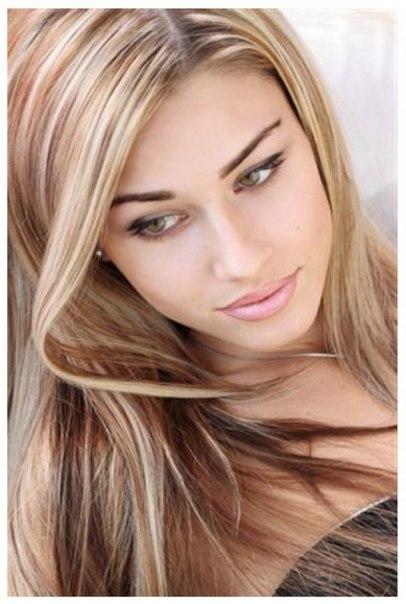 Эффектное белое мелирование волос - Леди Дафна