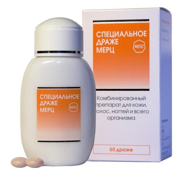 Комбинированный препарат для волос с витаминами.
