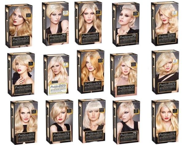 Конечно, самая лучшая краска для волос блонд - фирменная.