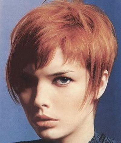 Короткая стрижка – круглое лицо и тонкие волосы