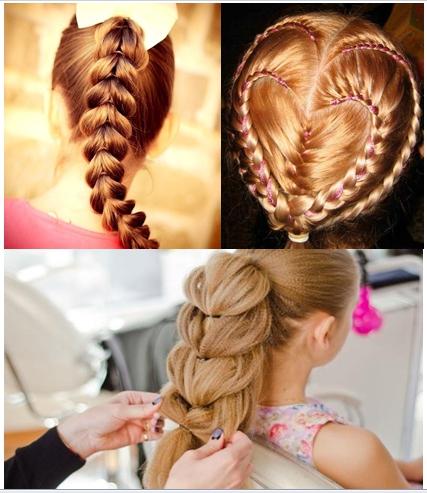 Коса сердцем сзади на хвосте не только выглядит оригинально, но и доступна для создания своими руками даже при минимальных навыках