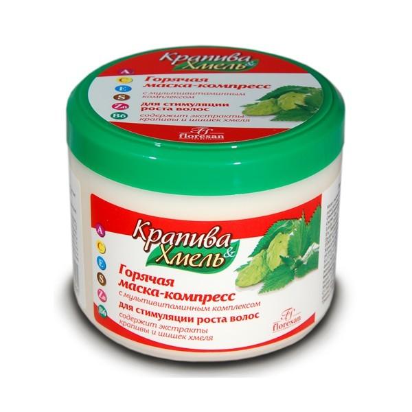 Крапива эффективно используется для стимулирования роста локонов.