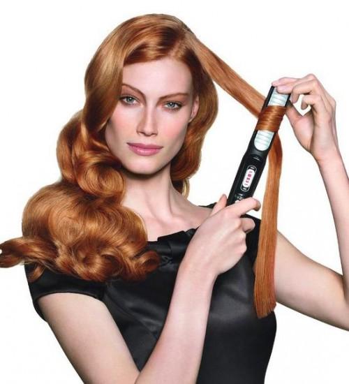 Красивые классические локоны мы создадим легко и за 5 минут практически на любых волосах.