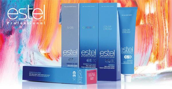Краски Estel помогут получить оттенок блонд без желтизны