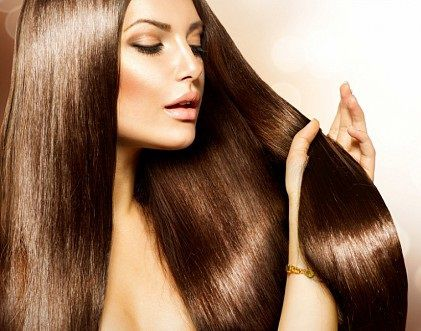 Ламинирование волос делает их гладкими и шелковистыми