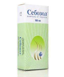 Лечебный шампунь в составе с кетоконазолом