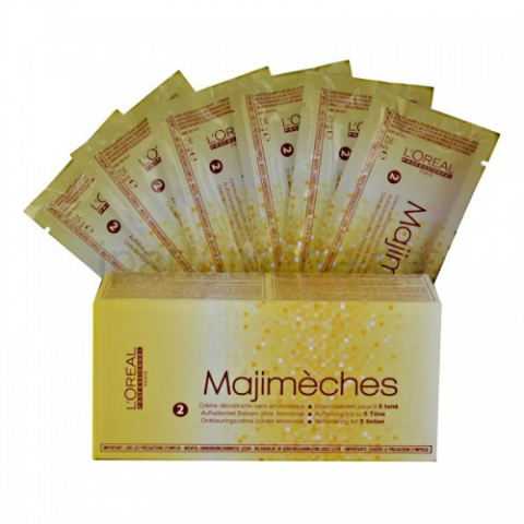 L'Oreal Professionnel Majimeches – итальянский осветляющий крем для мелирования
