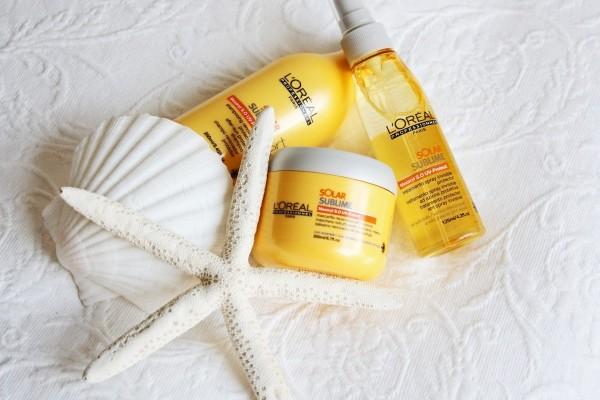L'Oreal Professionnel Solar Sublime – защита ваших волос от солнца