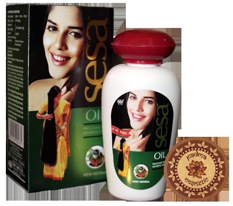 Масло «СЕСА Херабл» для отращивания красивых локонов.