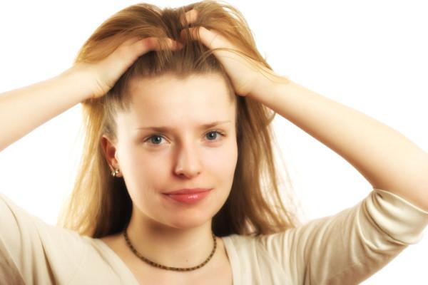 Массаж головы улучшает кровообращение!